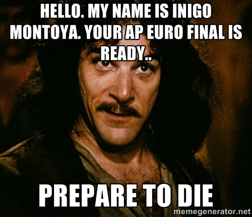 Ap European History help!?
